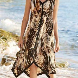 Soft Surroundings Leopard Extravaganza Dress